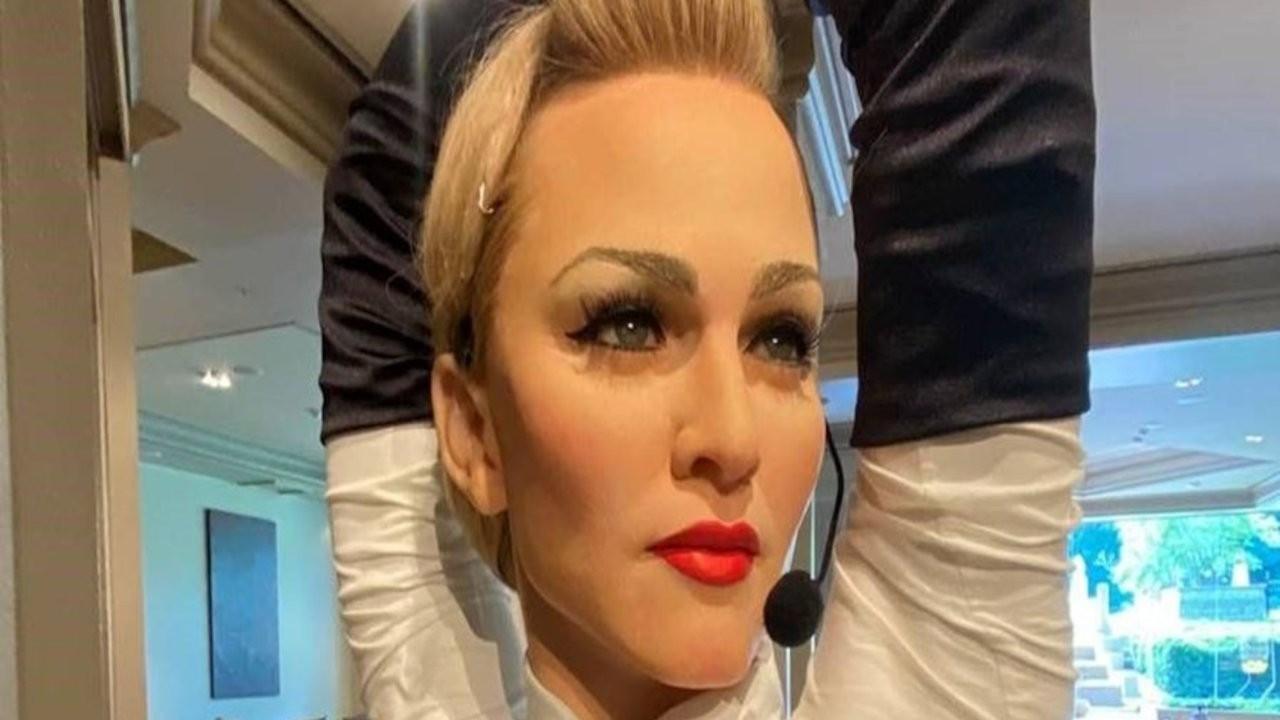 Madonna'nın balmumu heykeli Grand Hyatt İstanbul'da
