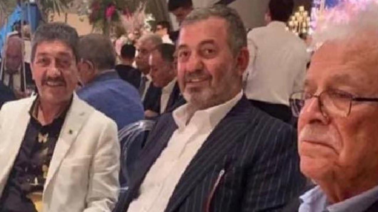 Soylu ve Öncel'in fotoğrafı Drej Ali'nin oğlunun düğünündenmiş