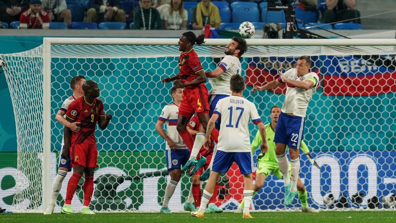 Belçika, Rusya'yı Lukaku'yla devirdi: 3-0