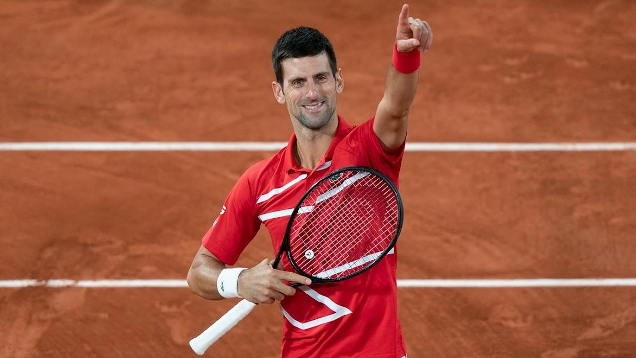 Fransa Açık'ta şampiyon Novak Djokovic