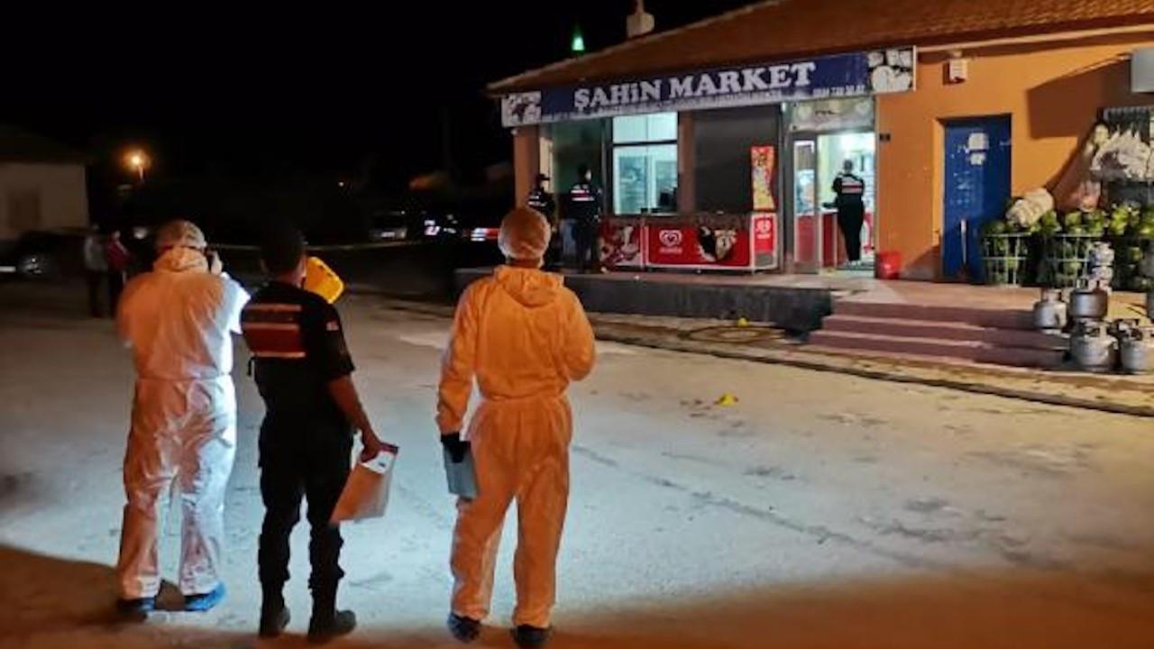 Konya'da markette silahlı kavga: 1 ölü, 5 yaralı