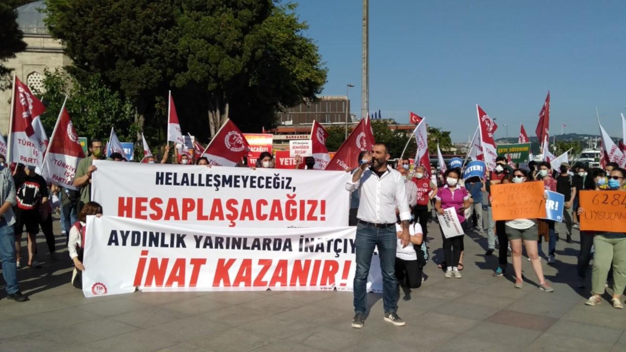 TİP'ten Ahmet Şık'a destek: Tuğlayı çekeceğiz altında kalacaksınız