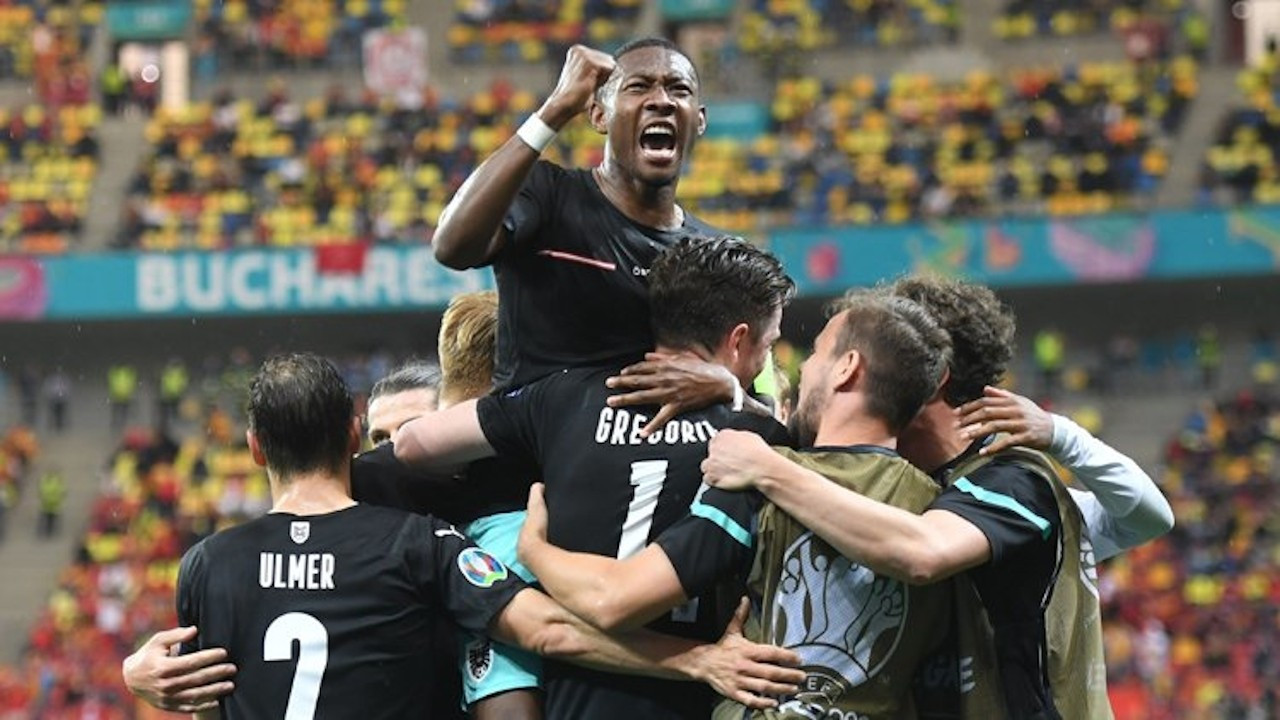 EURO 2020: Avusturya, Kuzey Makedonya'yı 3-1 yendi