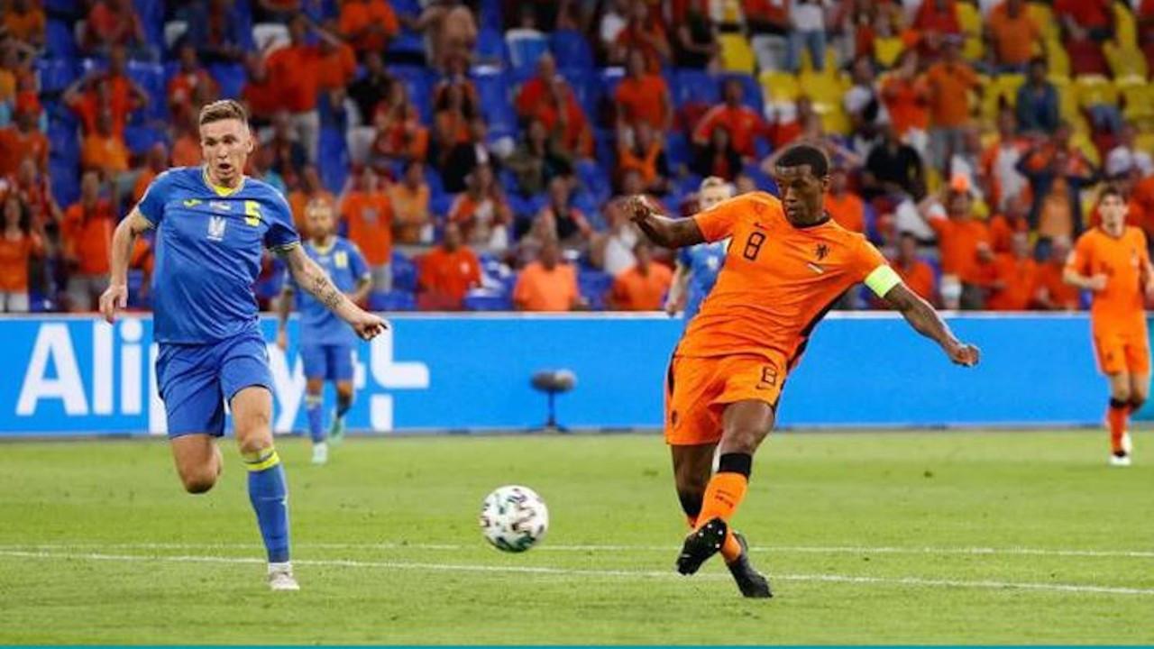 EURO 2020: Hollanda, Ukrayna'yı 3-2 mağlup etti