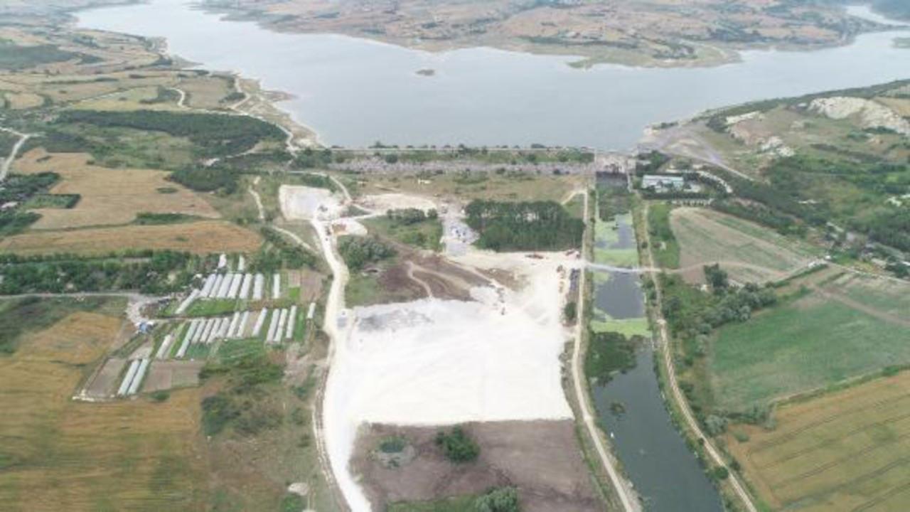 Kanal İstanbul'da ilk temelin atılacağı nokta görüntülendi