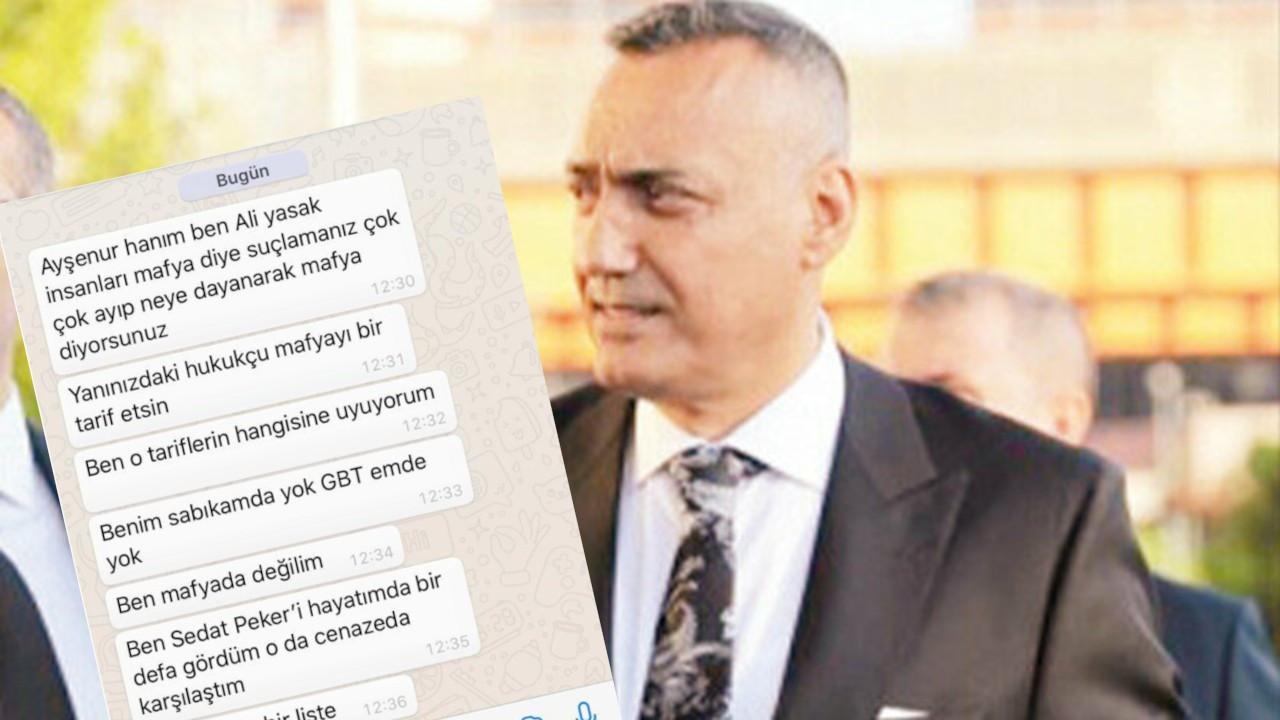 Drej Ali'den canlı yayına mesaj: İnsanları mafya diye suçlamanız çok ayıp