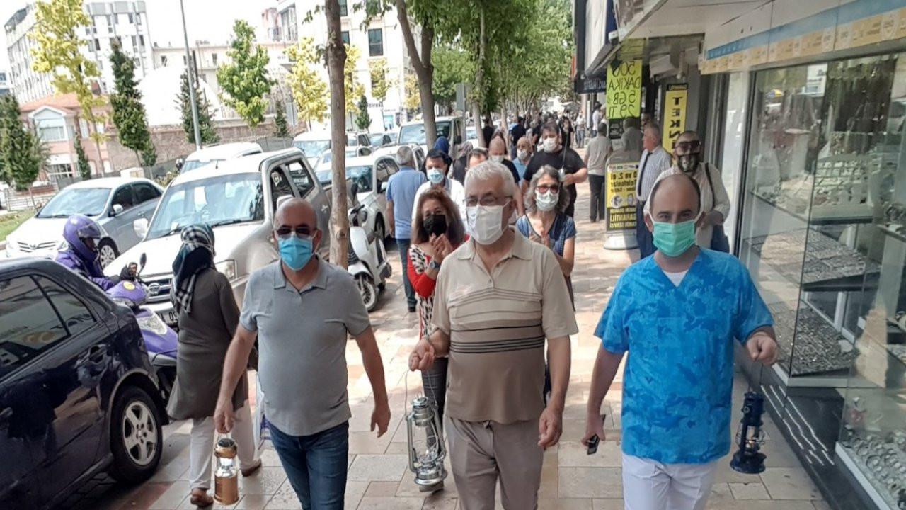Denizli'de mafya siyaset ilişkisine fenerli protesto