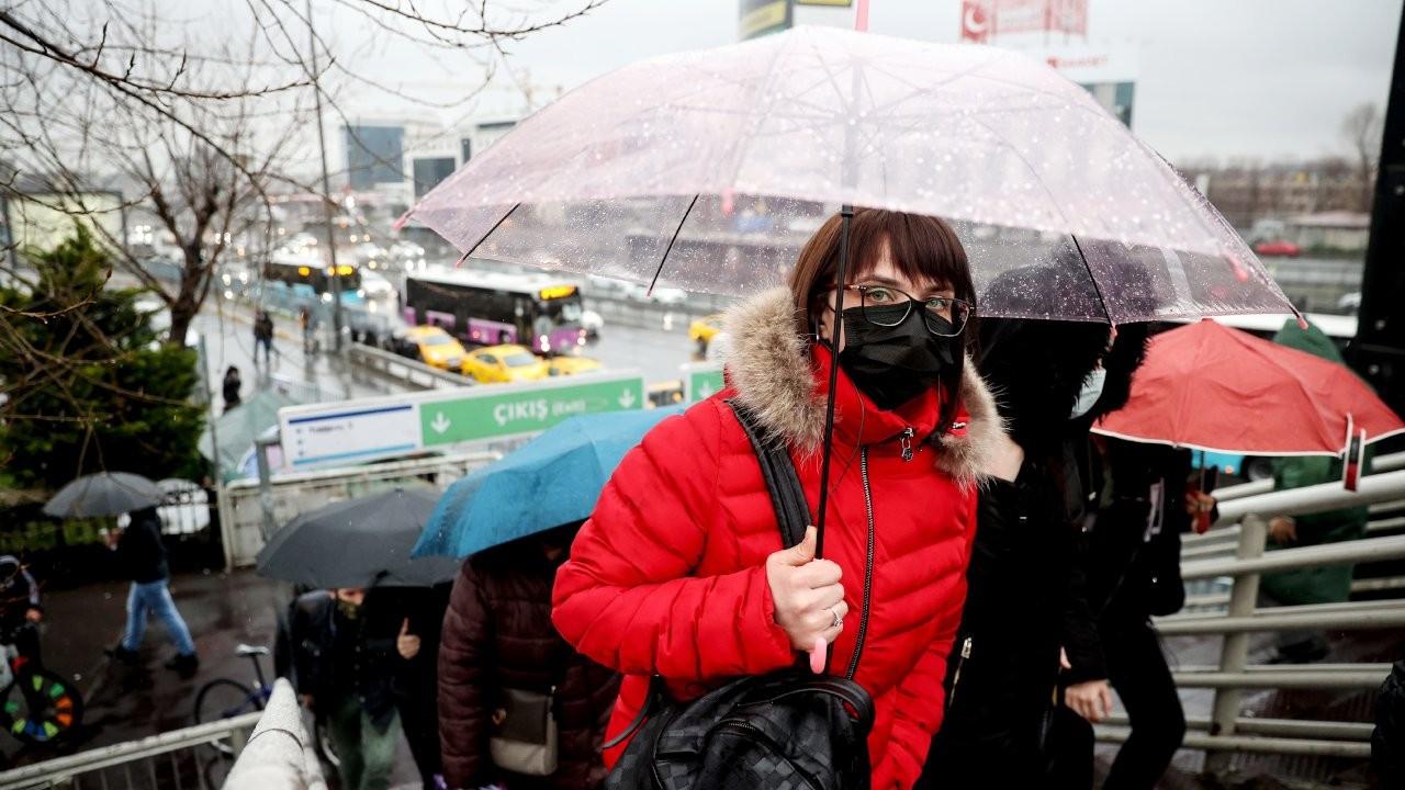 Meteoroloji'den Trakya ve İstanbul için kuvvetli yağış uyarısı