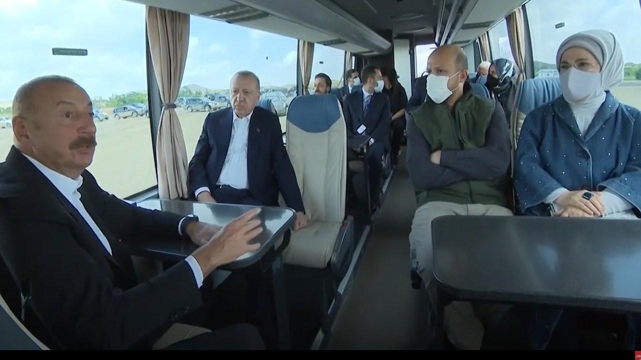 Emine Erdoğan Aliyev'e Ermeni esirleri sordu: Hadi bakalım inşallah