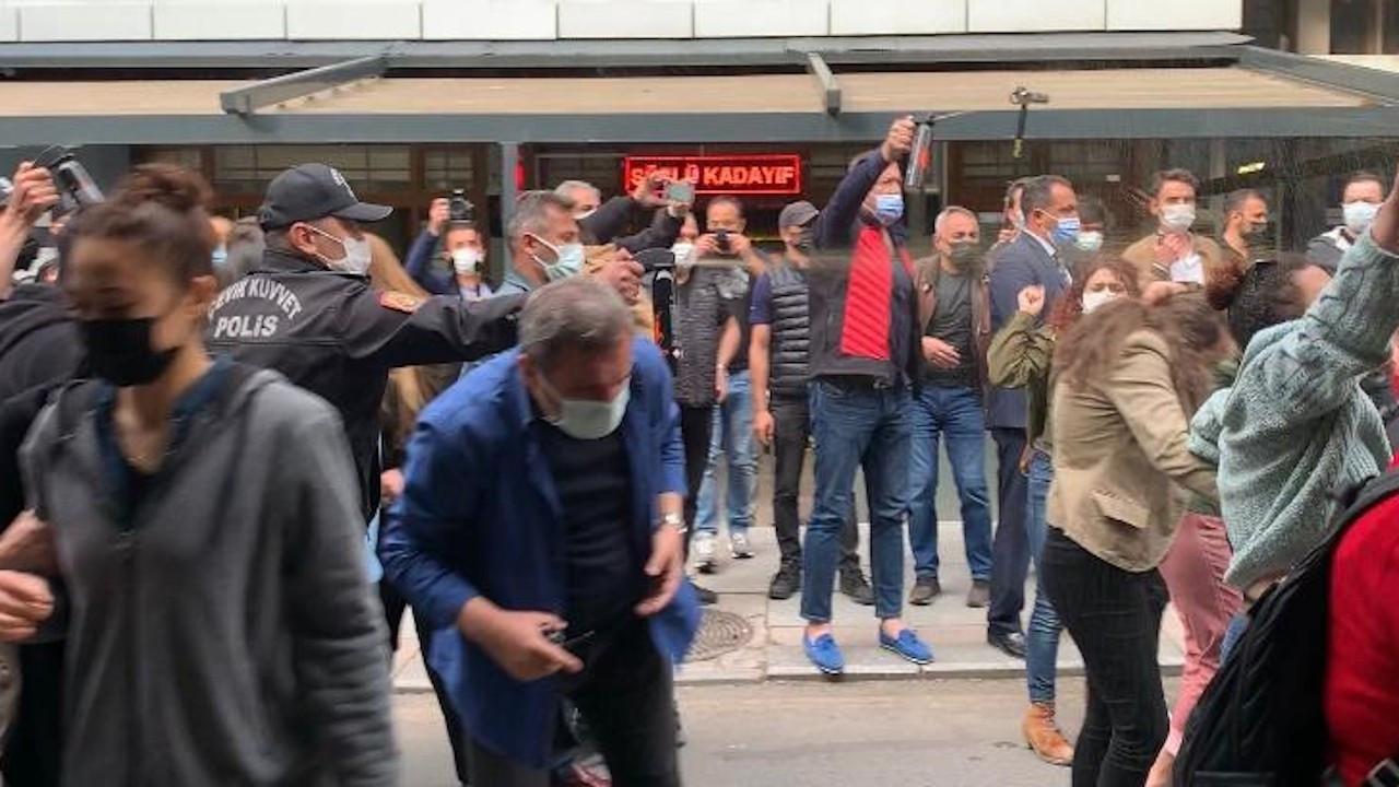 Ankara'da 'İstanbul Sözleşmesi' açıklamasına polis saldırısı