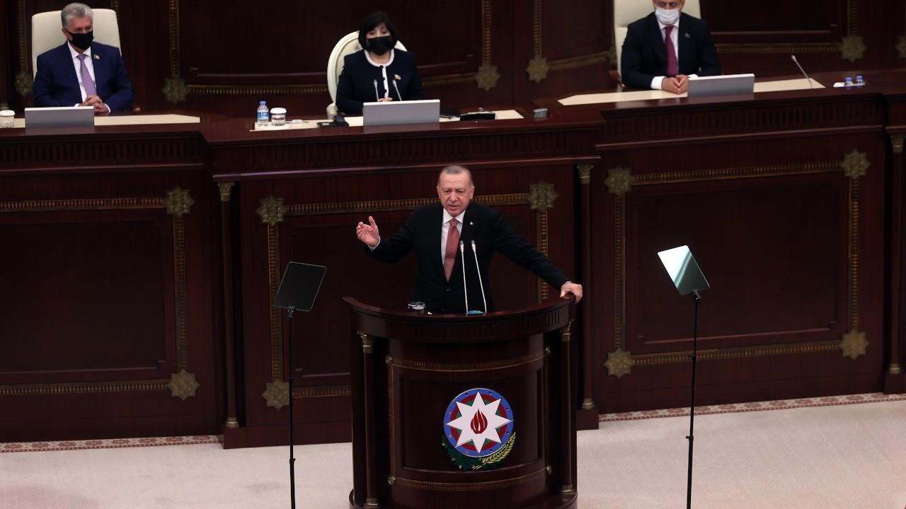 Erdoğan: 6 ülke bir platform kuralım, düşmanlıklar ortadan kalksın