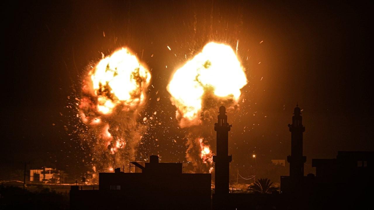 İsrail, ateşkesten bu yana ilk kez Gazze'ye hava saldırısı düzenledi