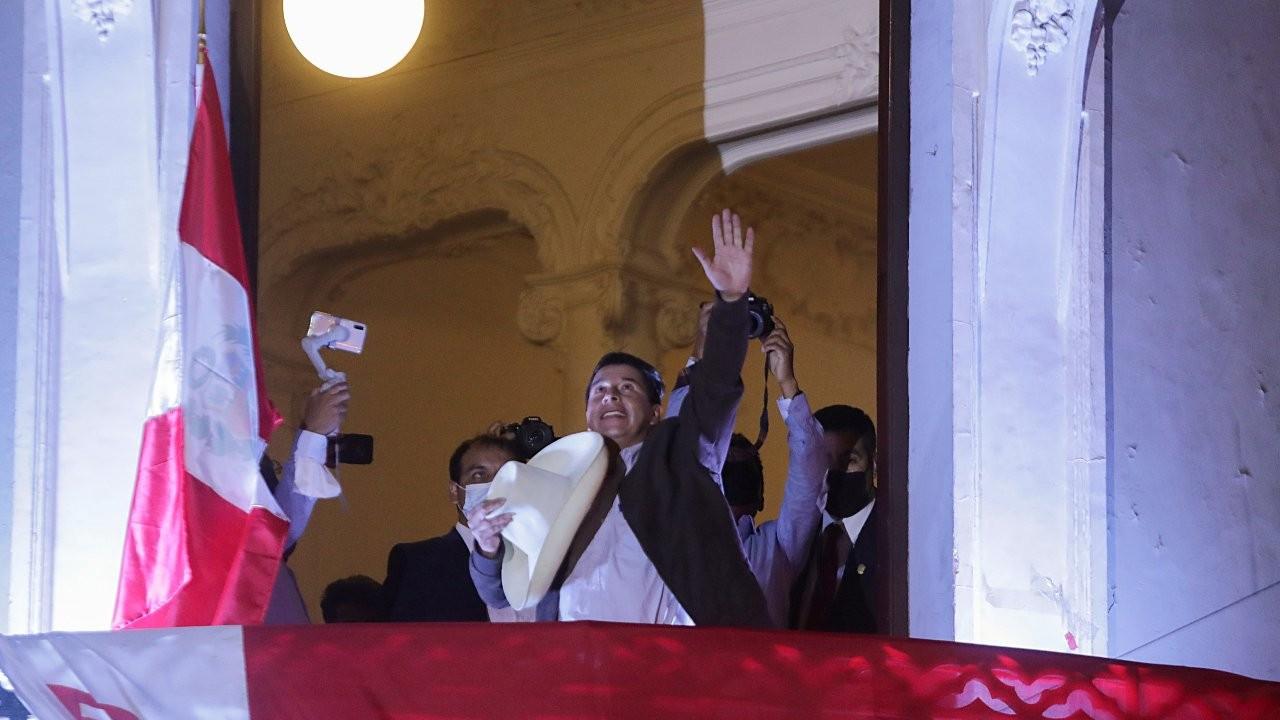 Peru'da sosyalist aday Castillo zaferini ilan etti