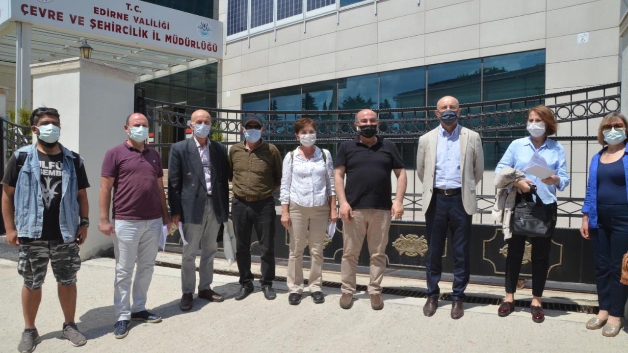 Edirne'de kalker ocağının kapasite artırma talebine itiraz
