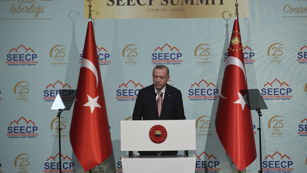 Erdoğan: Avrupa halklarını tatil için ülkemize bekliyoruz