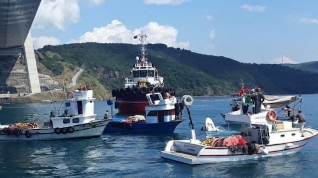 Boğazda yük gemisinin çarptığı tekne battı: 2 ölü, 1 yaralı