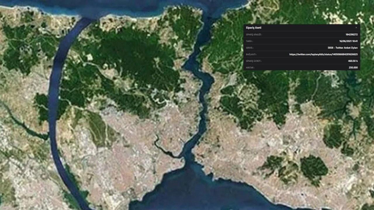 ' Kanal İstanbul anketinde 250 bin sahte oy satın alınmış'