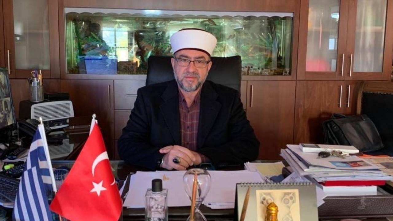 İskeçe Müftüsü Ahmet Mete'ye hapis cezası