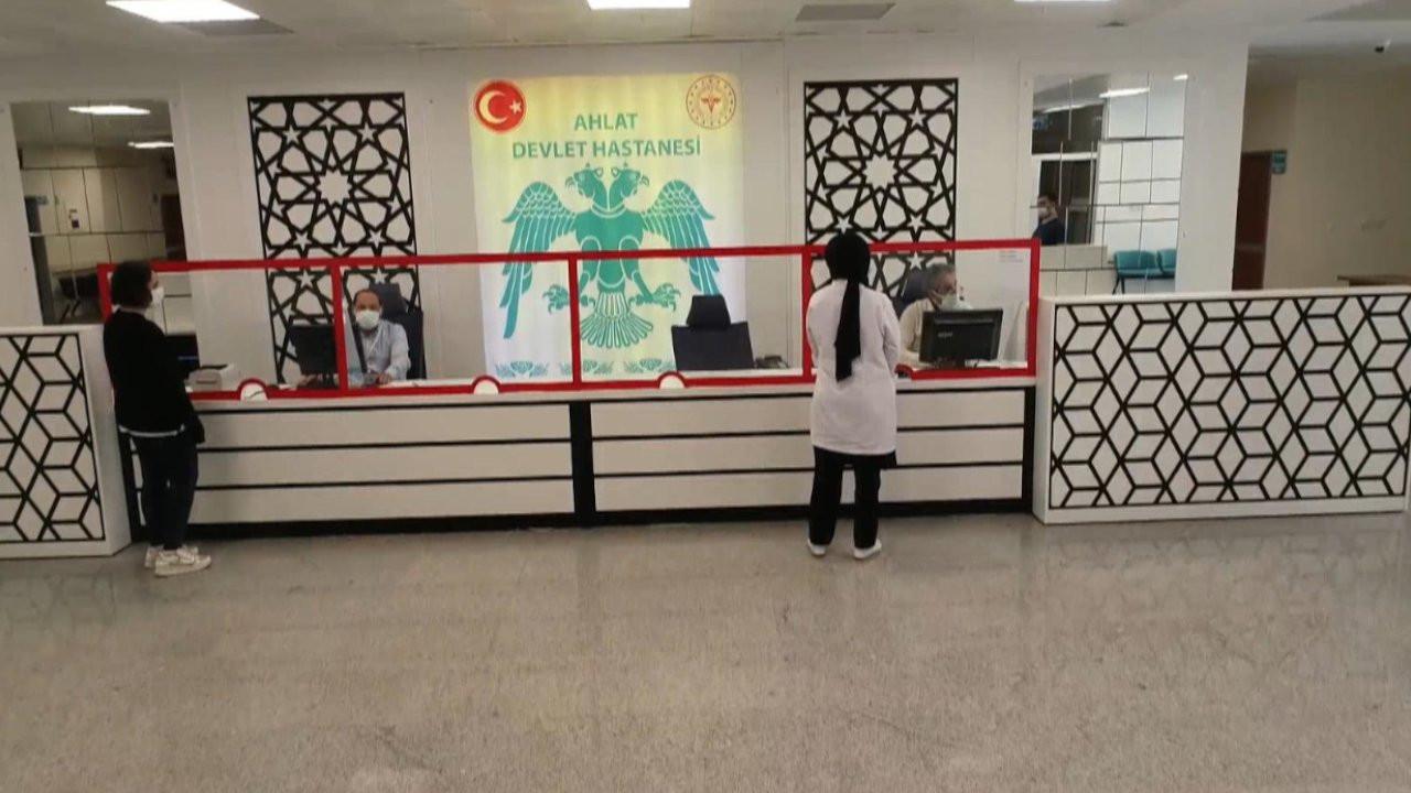 Bitlis'te hastane çalışanları yemekten zehirlendi