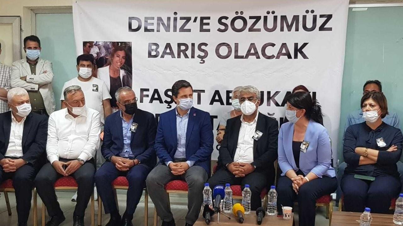 CHP heyetinden HDP'ye başsağlığı ziyareti: Bu bizi yıldırmamalı