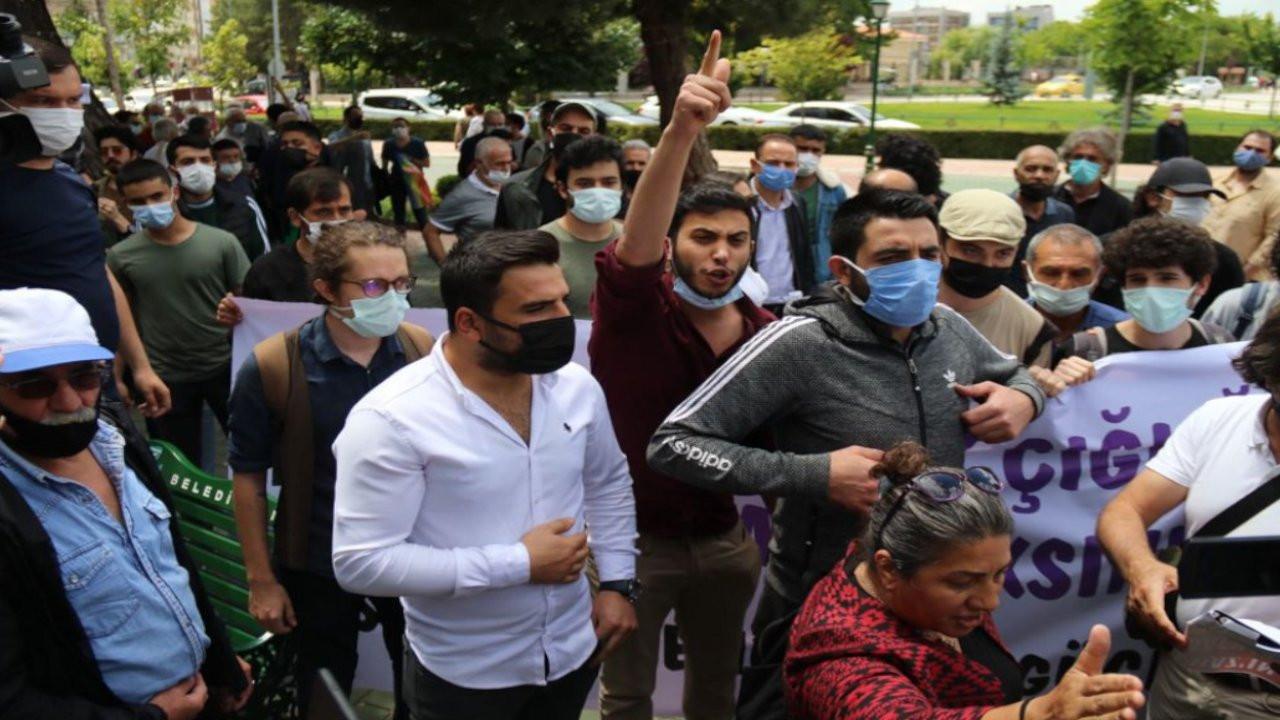 Eskişehir'de polis Deniz Poyraz için yürüyüşe izin vermedi