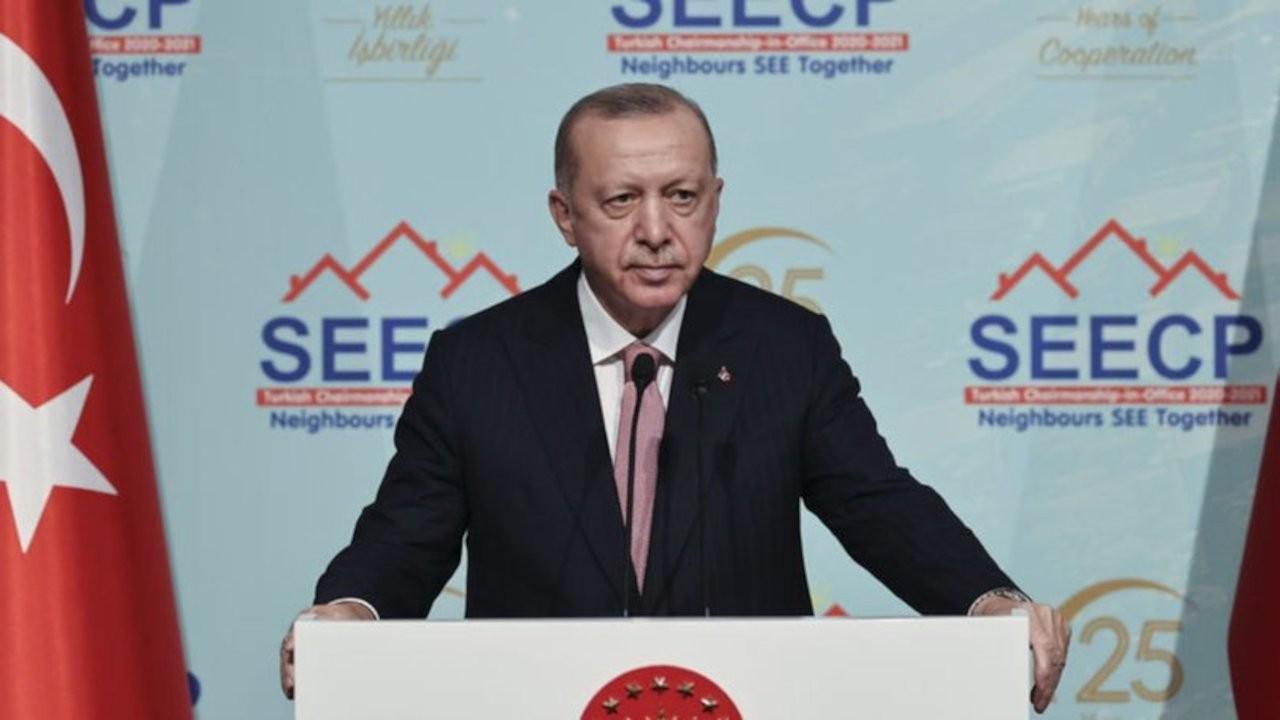 Erdoğan'ın dili sürçtü: Suriye'yi istikrarsızlaştırma çabalarımız...