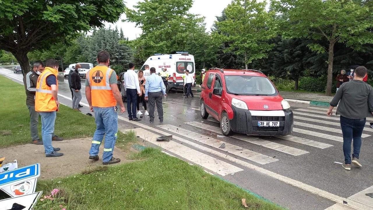 Gelecek Partisi Genel Başkan Yardımcısı Ün, trafik kazasında yaralandı