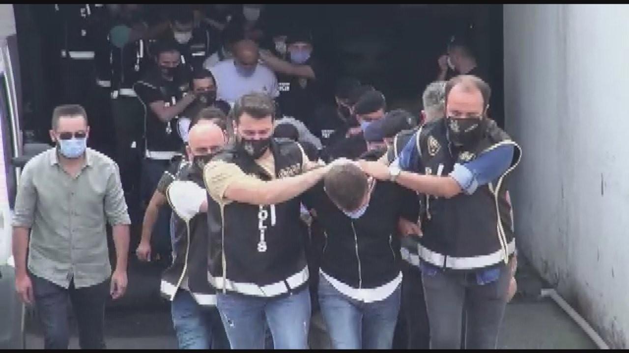 'Karagümrük Çetesi'ne operasyon: 21 kişi tutuklandı