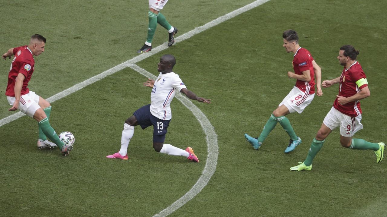 Son dünya şampiyonu Fransa, Macaristan'a takıldı: 1-1