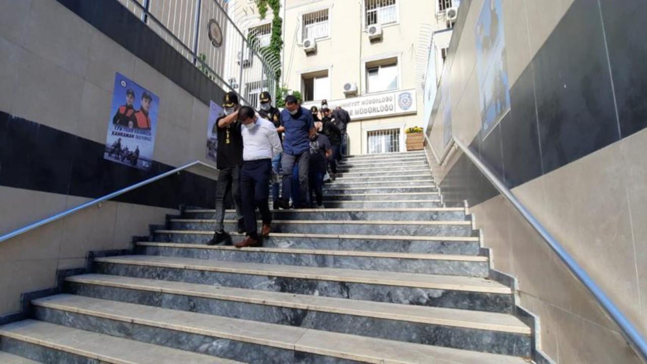 İstanbul'da gasp: 3 Çinli, 2 Kırgız, 1 Kazak, 1 Suriyeli gözaltında