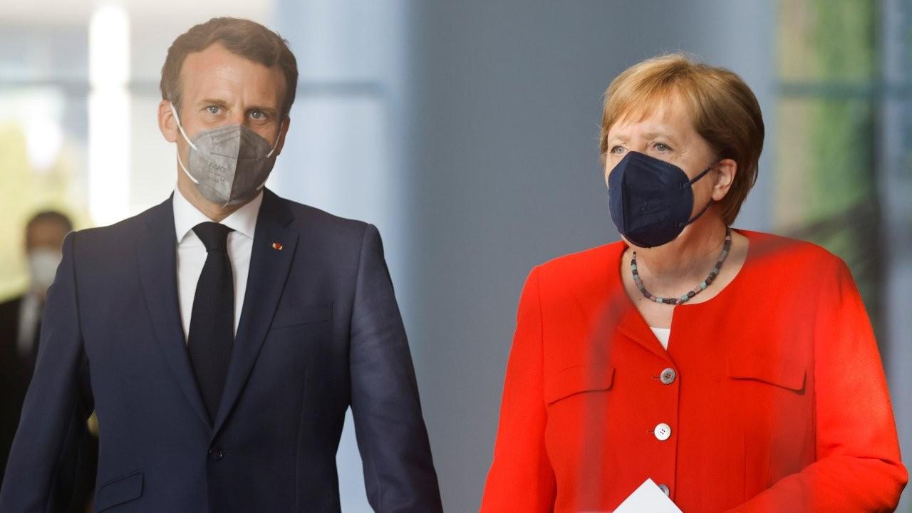 Merkel ve Macron'dan Türkiye mesajı: AB, sınamalarla karşı karşıya