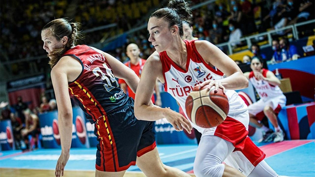 A Milli Kadın Basketbol Takımı 2021 FIBA'ya veda etti