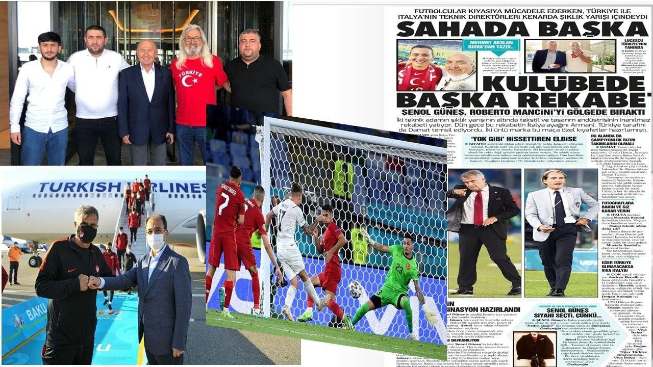 'Futbol Federasyonu'nun gezisine katılan bedavacı spor yazarları'