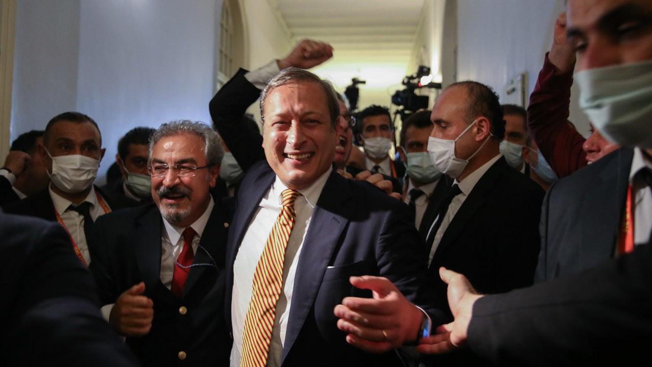 Yeni başkan Elmas: Bugün kazandık ama Galatasaray'da kimse kaybetmedi