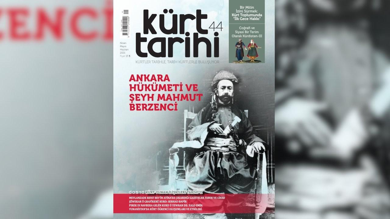Kürt Tarihi Dergisi'nin 44. sayısı çıktı