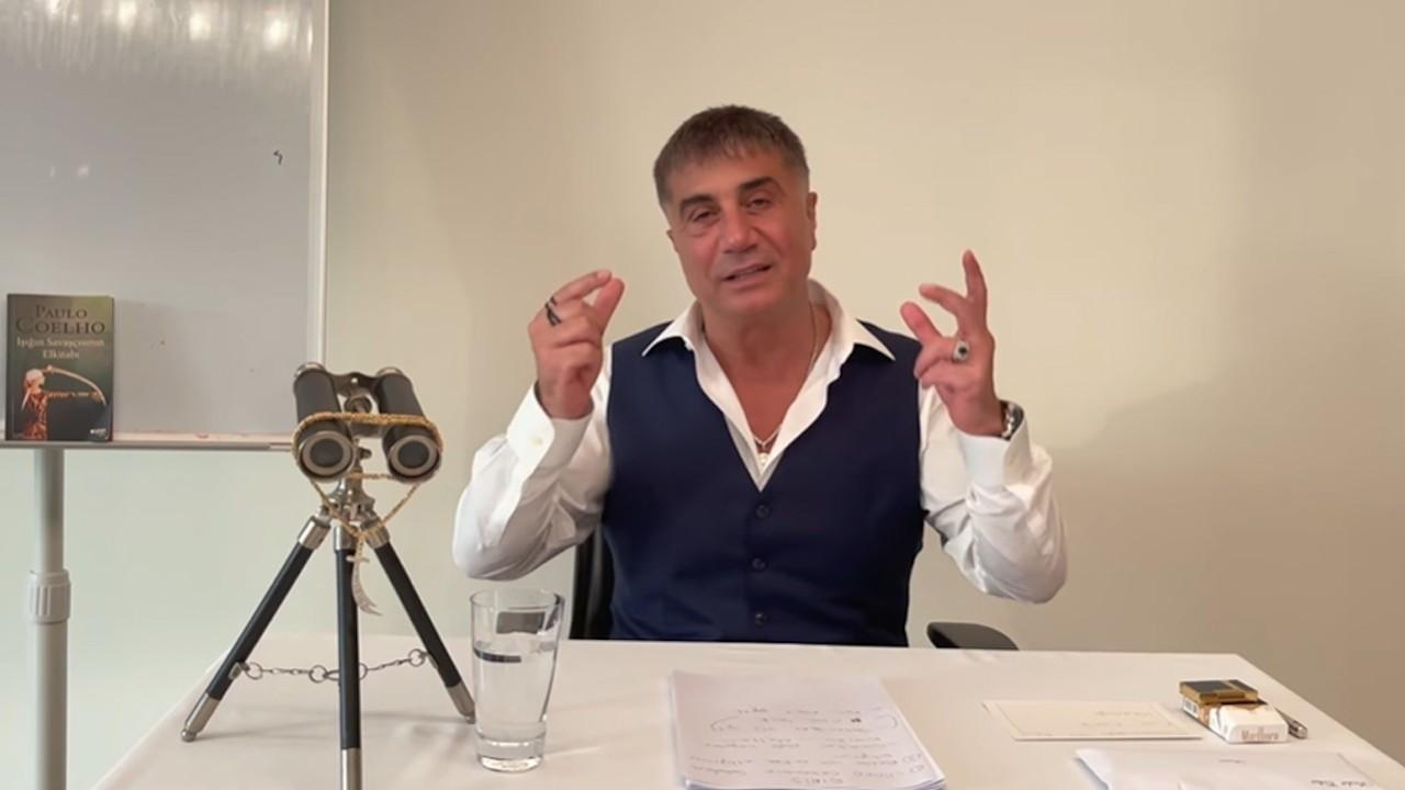 Sedat Peker'den 6 dakikalık yeni video