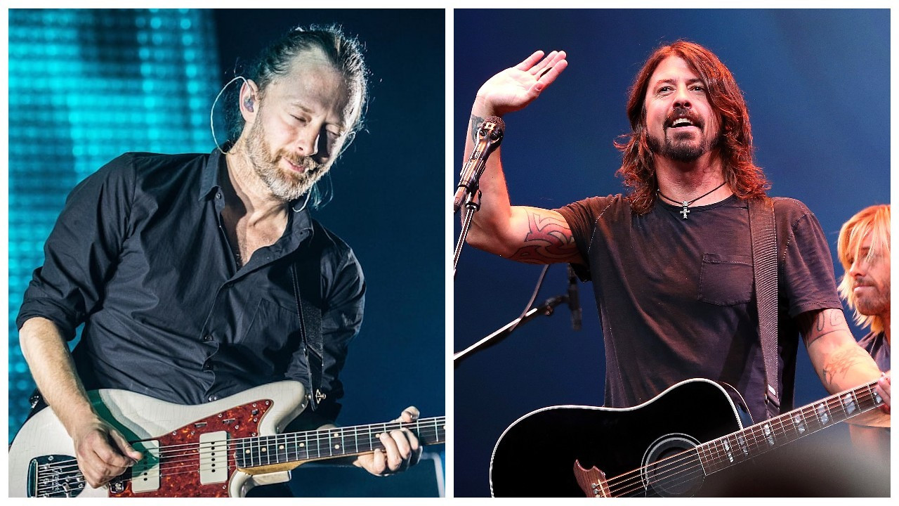 Radiohead ve Foo Fighters, müzisyenlere yardım için bisiklet tasarladı