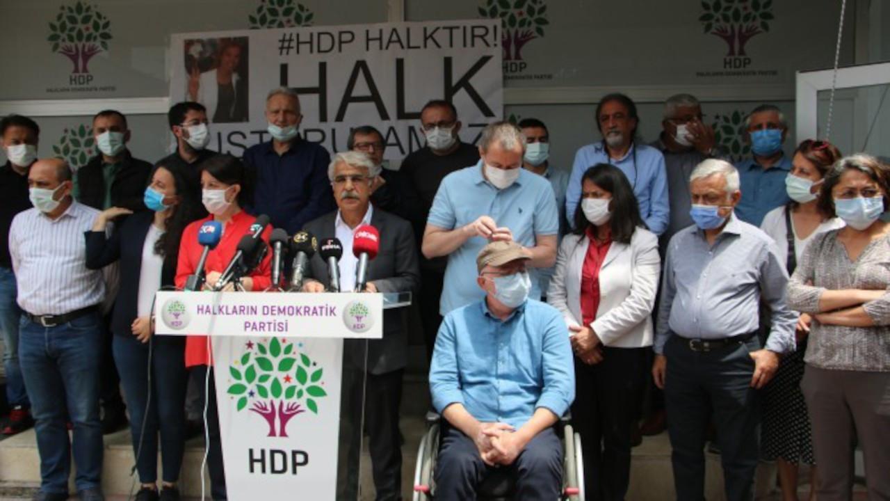 Sancar: AYM HDP'yi kapatırsa kendini kapatma kararı da vermiş olur