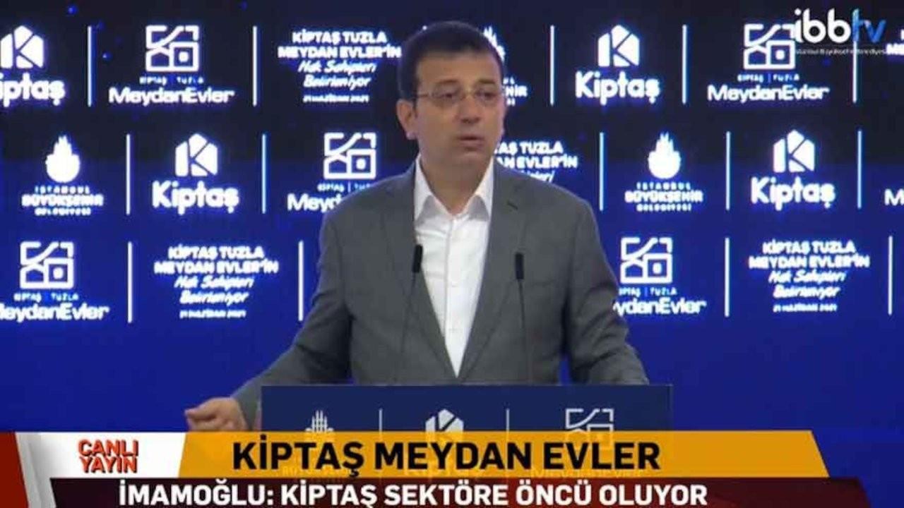 KİPTAŞ Tuzla Meydan konut projesi çekiliş sonuçları açıklandı