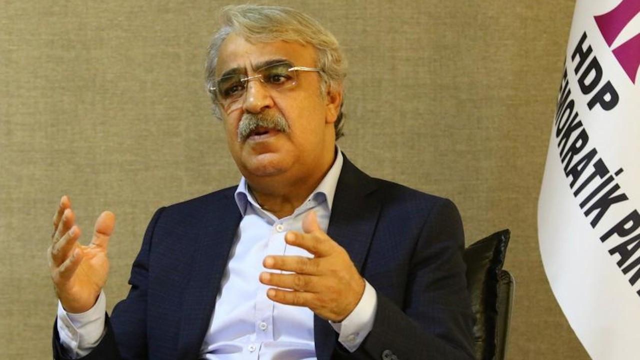 HDP Eş Başkanı Sancar'a Demirtaş'ı 'masum gösterme' suçlaması