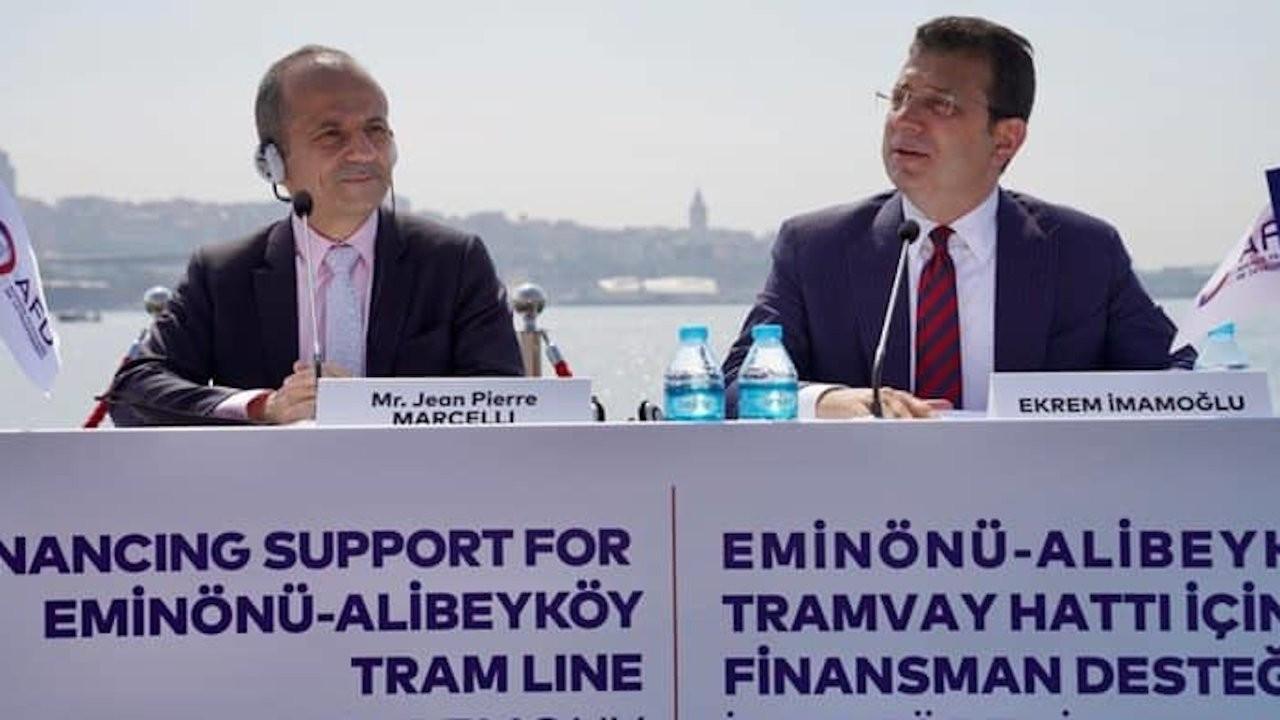 Fransa'dan Alibeyköy Tramvayı için İBB'ye 93 milyon euro kredi