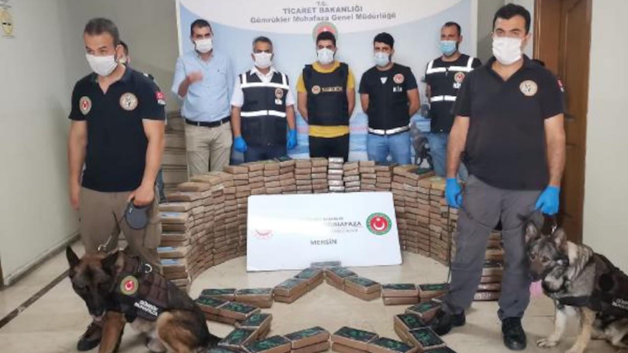 Mersin Limanı'nda bu kez de 463 kilo kokain ele geçirildi