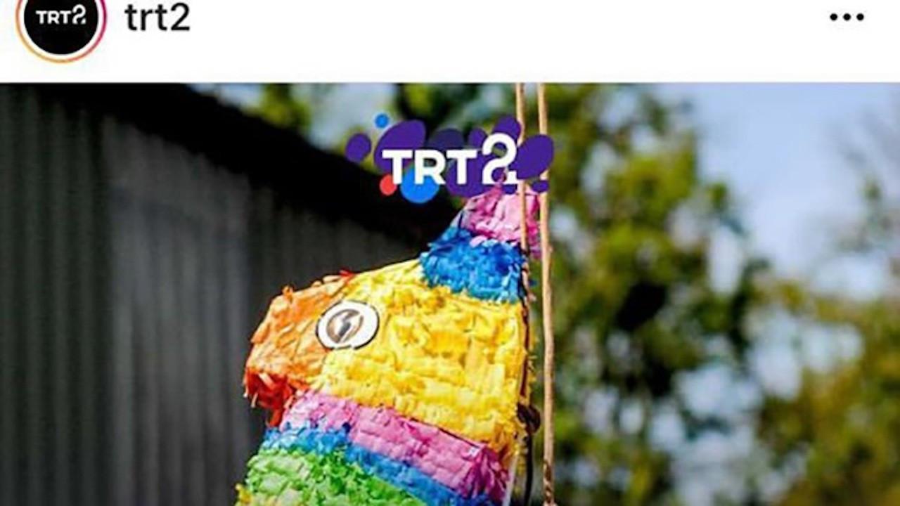 TRT 'gökkuşağı' paylaşımını sildi