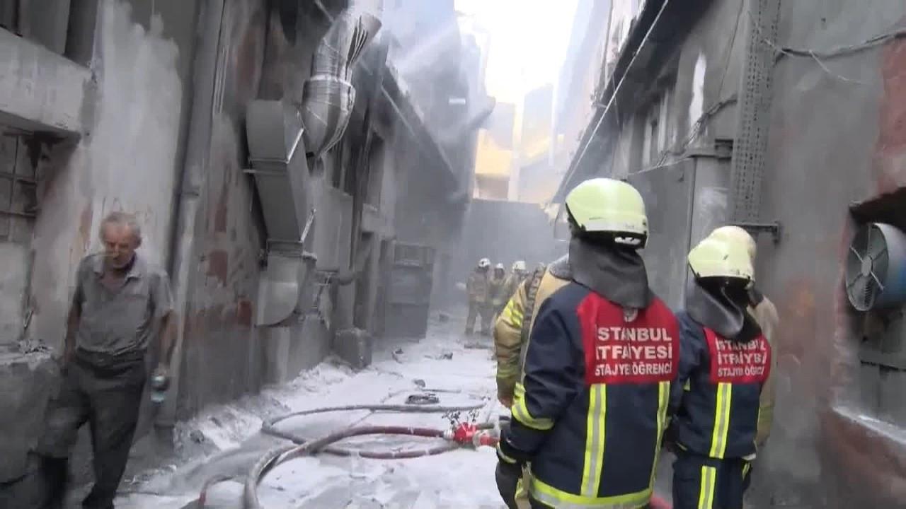 Bayrampaşa'da işyerinde patlama: 4 yaralı