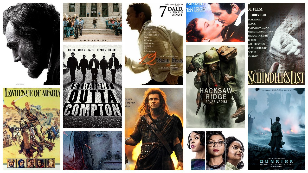 IMDb'ye göre en popüler 50 tarih filmi