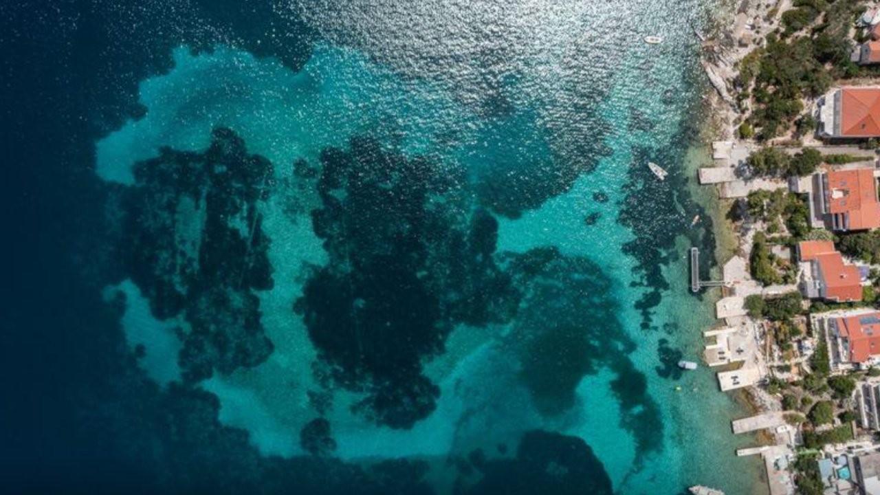 Uydu görüntüleri denizdeki kayıp yerleşimi ortaya çıkardı