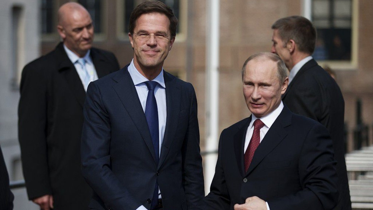 Rutte: Putin'in olduğu hiçbir toplantıya katılmayacağım
