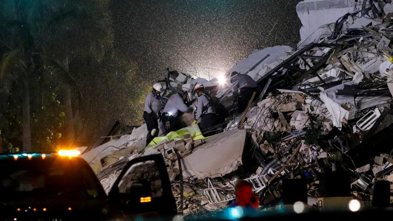 Florida'da acil durum ilanı: Miami'de 99 kişi kayıp