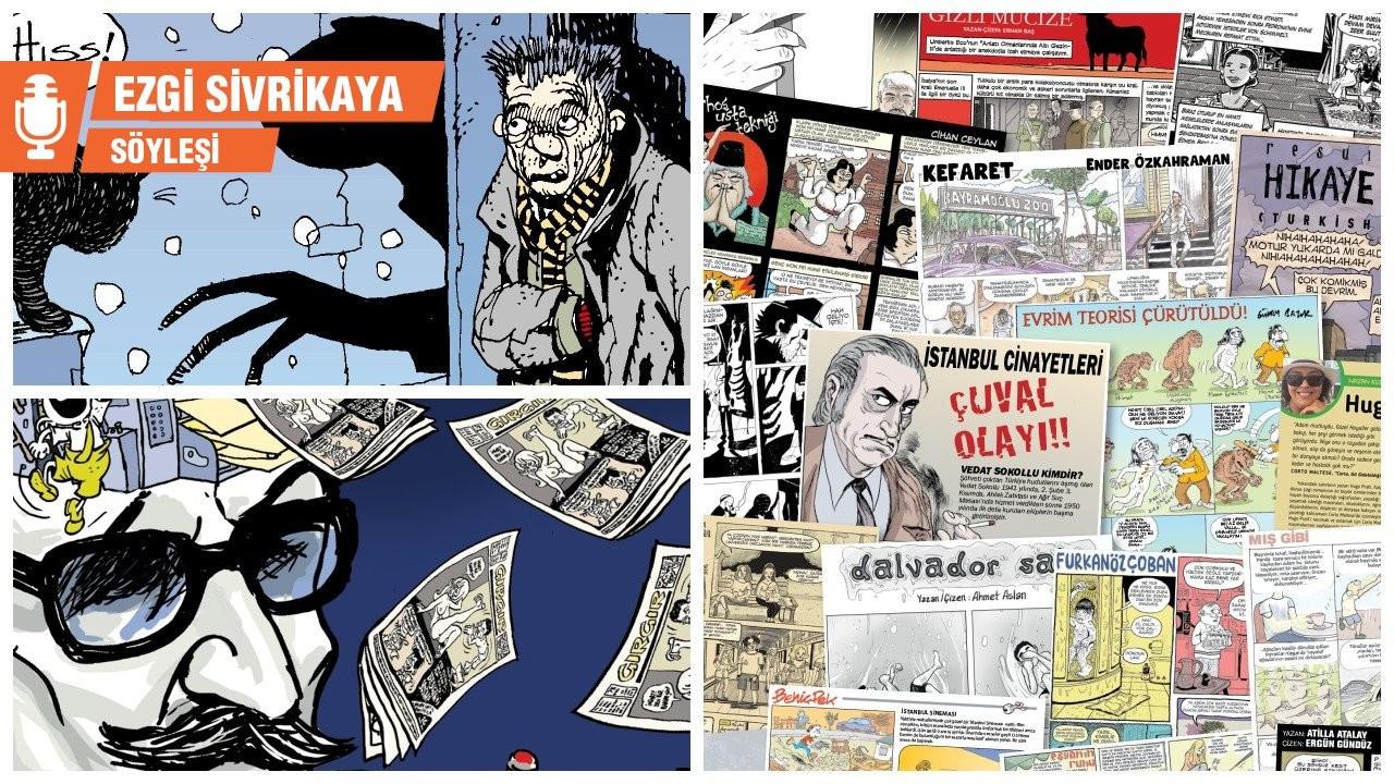 Erdal Belenlioğlu: Karikatür çizip denize atıyoruz