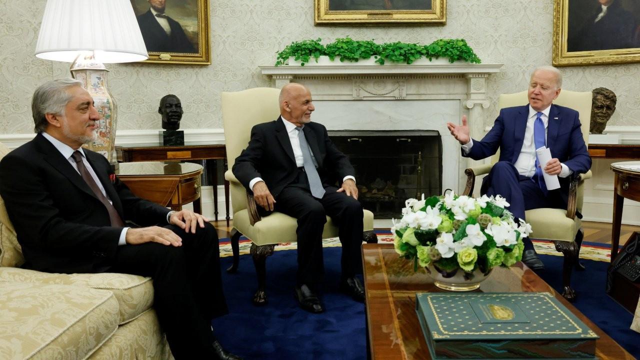 Biden, Afganistan Cumhurbaşkanı Gani'yle bir araya geldi